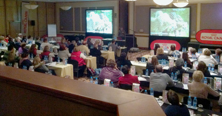 A view of the WCC 2011 Seminar.
