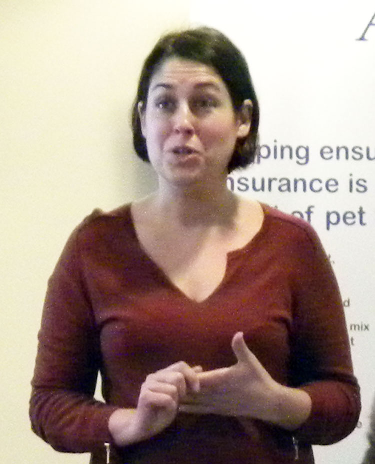 Laureline Malineau, Breeders Communication Manager for Royal Canin.