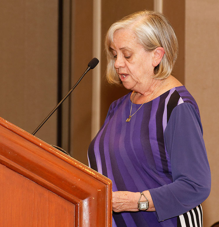 Karen Lawrence addressing the Seminar